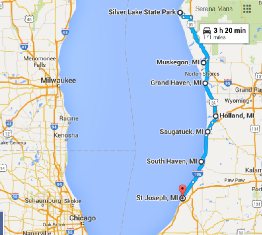 Where This Awesome Michigan Road Trip Will Take You Is Unforgettable #westcoastroadtrip