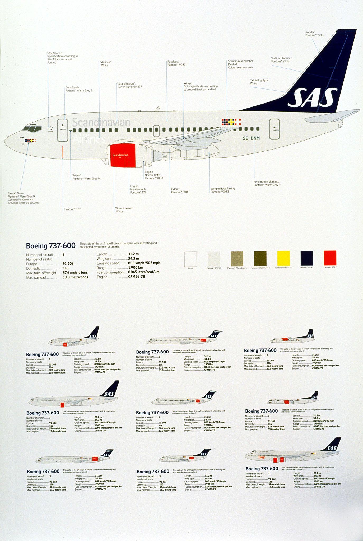 Scandinavian Airlines Stockholm Design Lab Airlines Branding Design Lab Branding Design