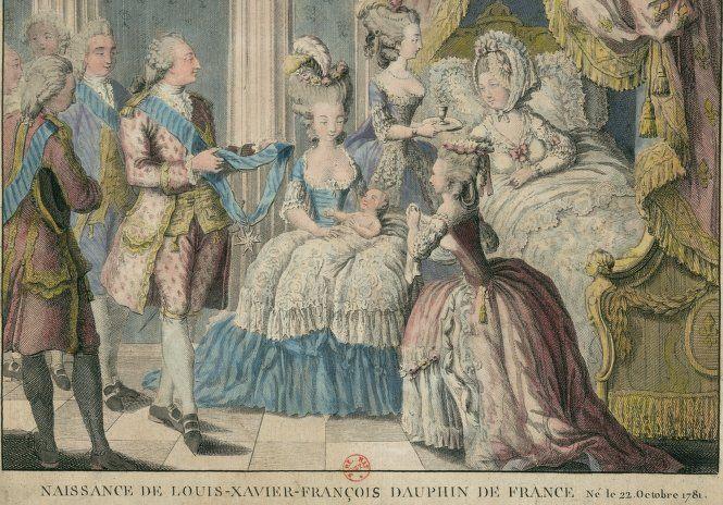 Naissance du dauphin, Louis Joseph Xavier -François de France