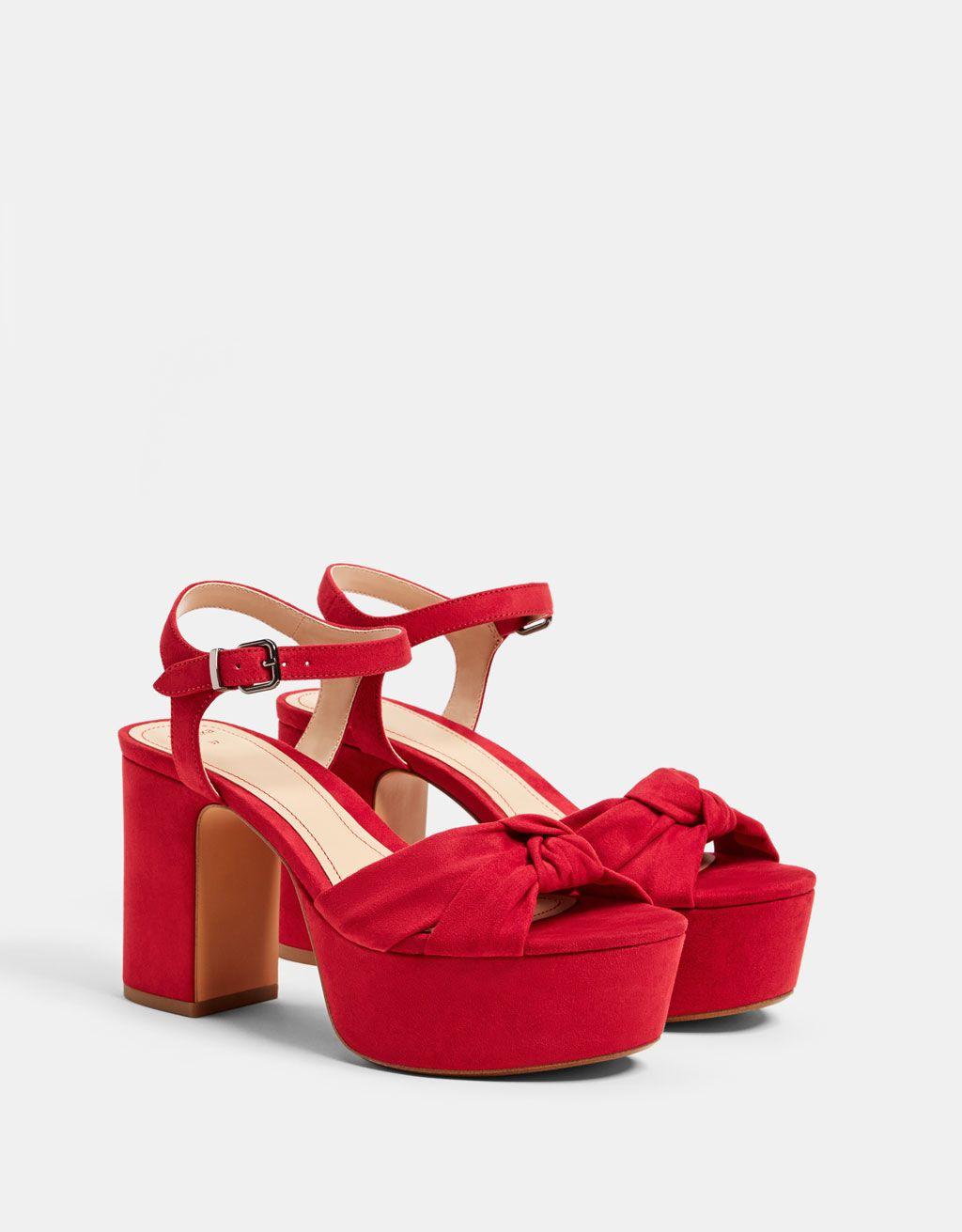 High heel platform sandals. Discover
