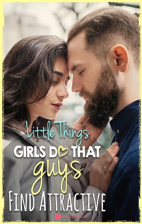 11 Little Things Girls Do That Guys Find Attractive | What