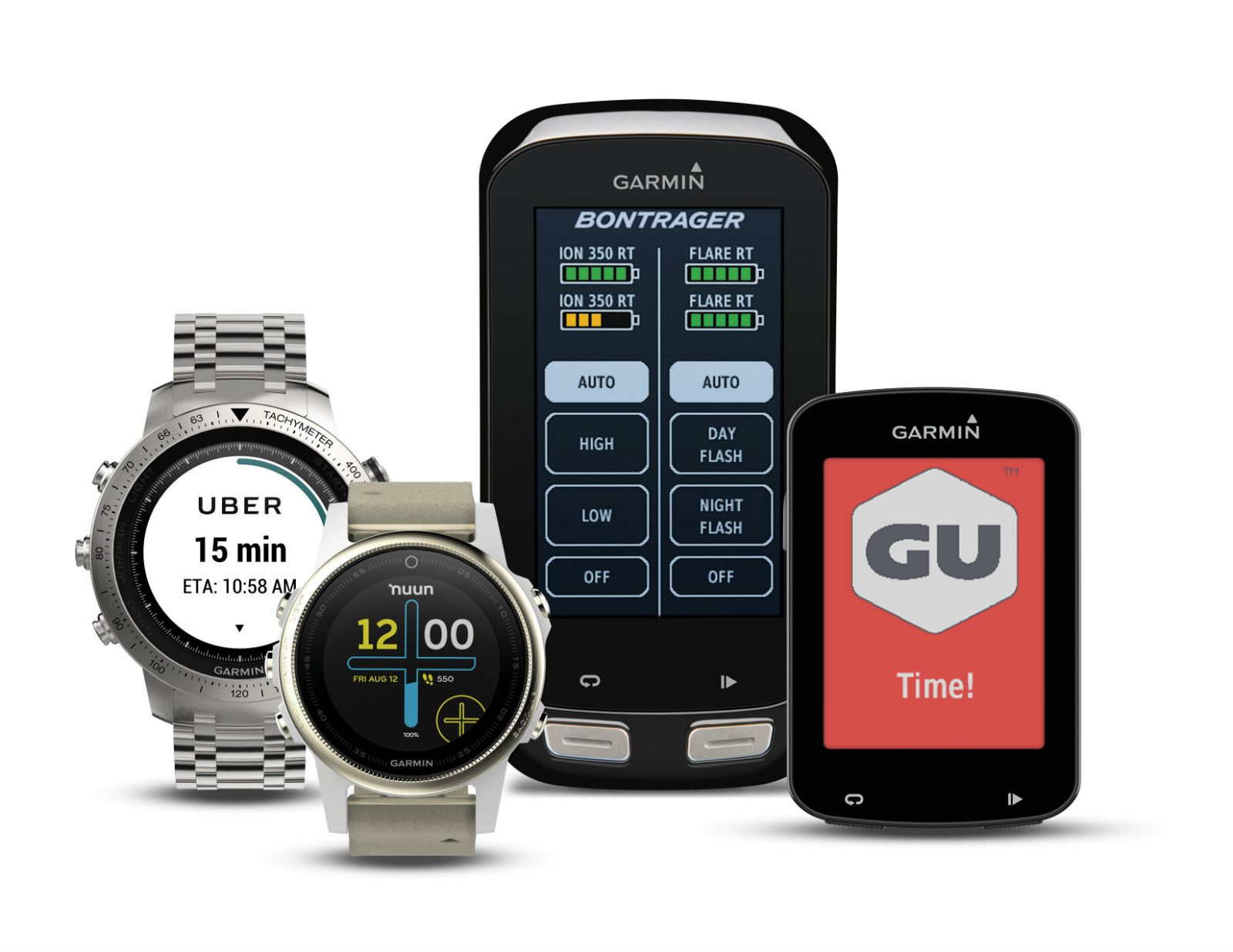 Garmin's watchapp store finally gets Uber and a few other