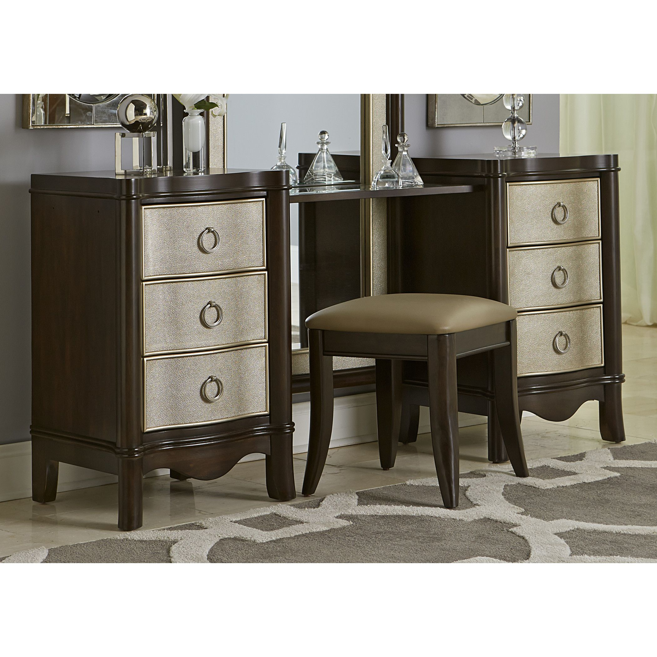 House Of Hampton Hoyt Vanity Drawer Unit