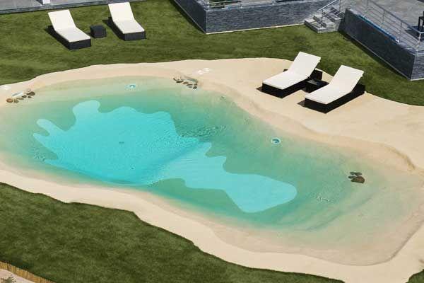 Les Piscines à Plages Immergées Piscine Azur Ajaccio Corse Les - Modele de piscine en beton