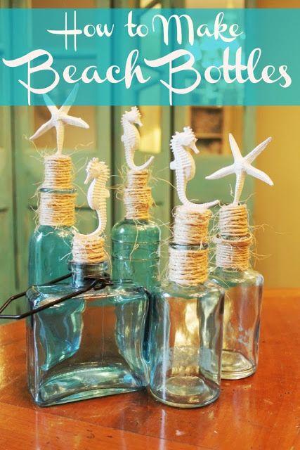 ~ Miss Kopy Kat ~ How to Make Beach Bottles ~