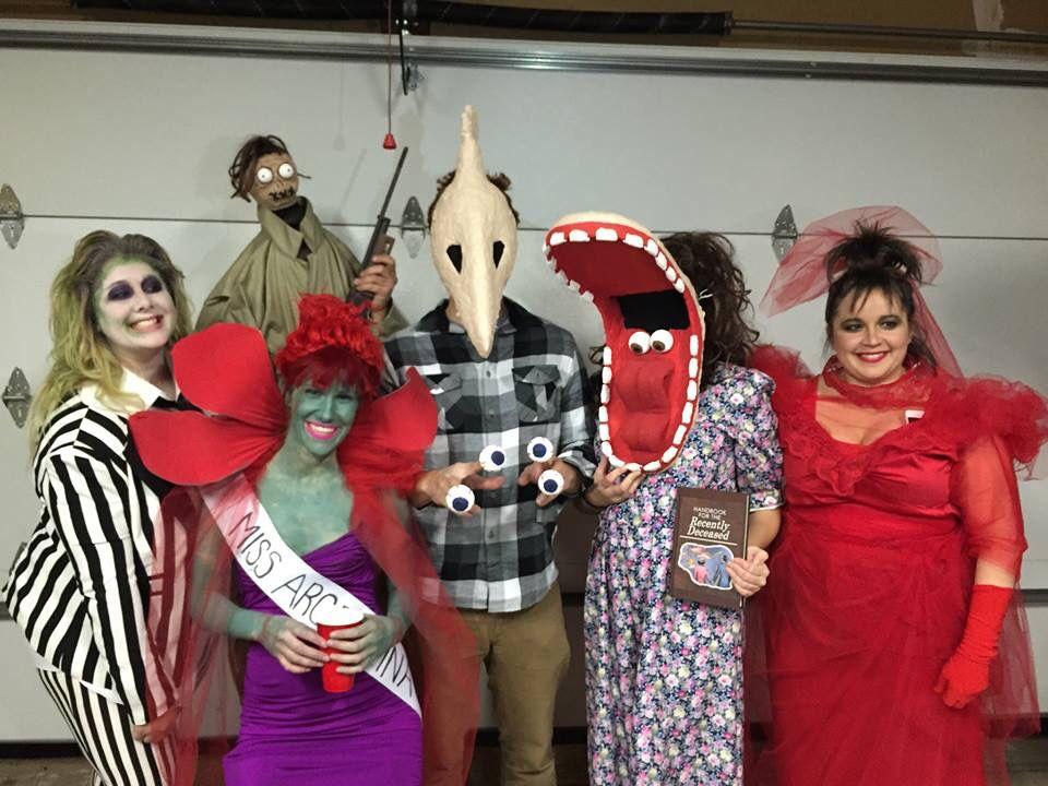 beetlejuice group costume idea halloween pinterest costumes halloween 2017 and halloween. Black Bedroom Furniture Sets. Home Design Ideas