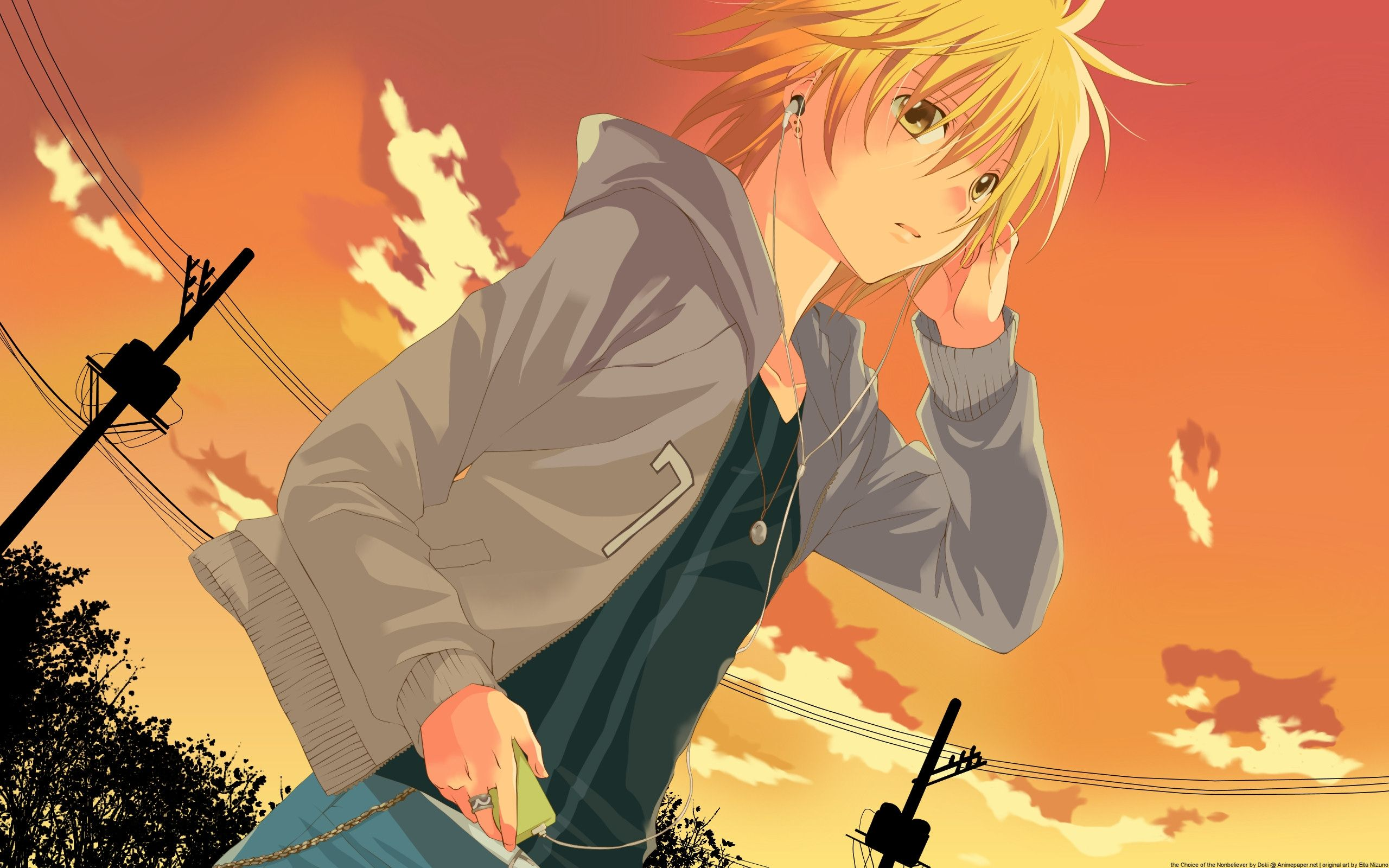 Anime Boy Music Wallpaper Hd 1080P 12 HD Wallpapers ...
