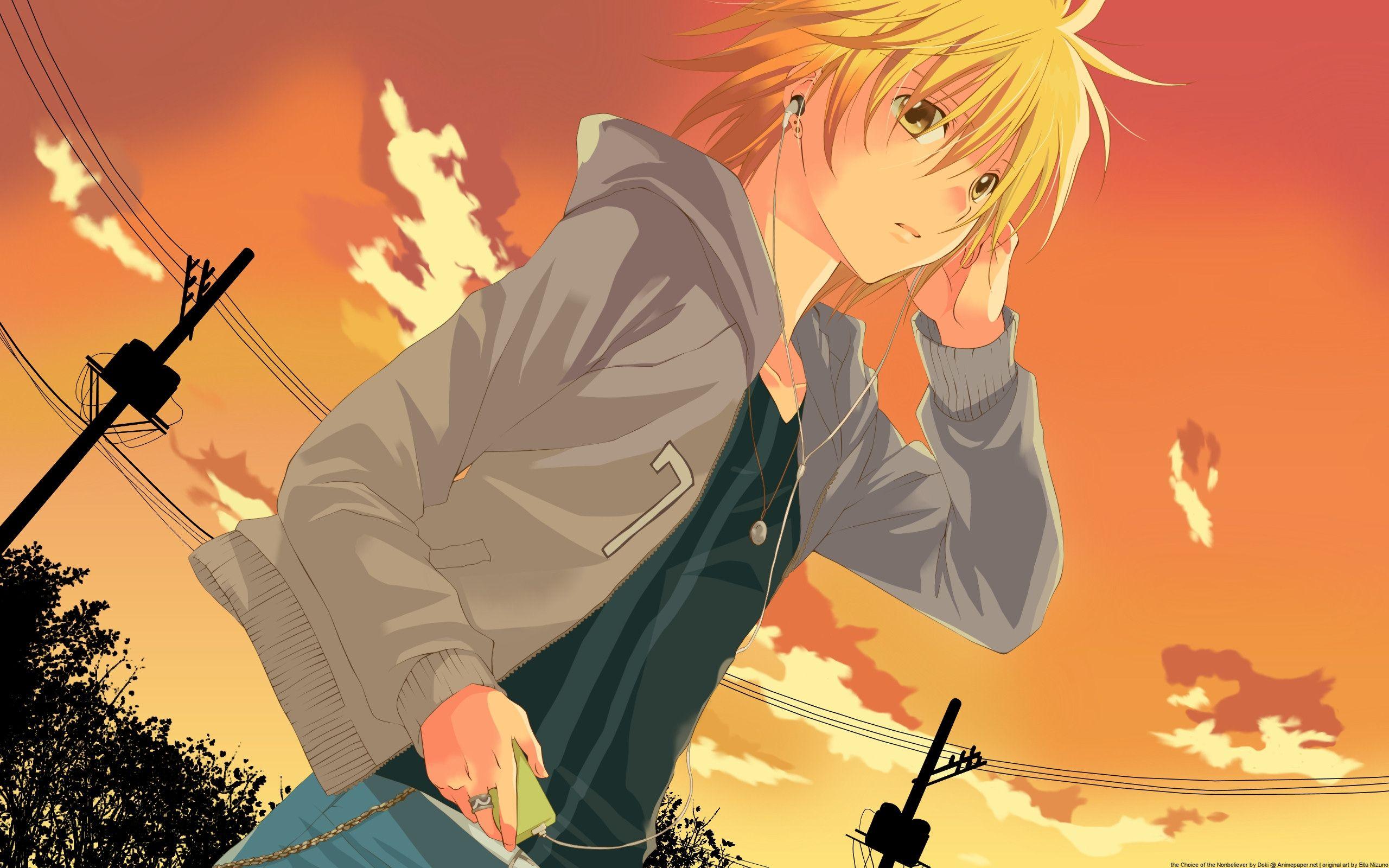 High Quality Anime Boy Wallpaper Full HD Pictures Imagem