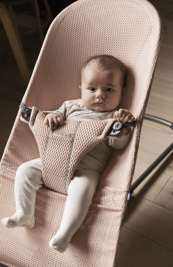 Babybjorn Bouncer Bliss Mesh Pearly Pink Baby Bjorn Baby Rocker Baby Bouncer Seat