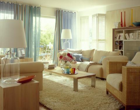 Wohnzimmer erstrahlt in modernem Landhausstil - [SCHÖNER WOHNEN ...