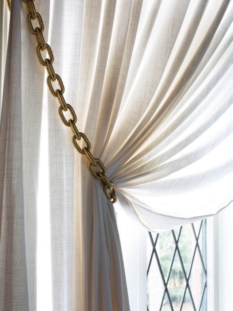 10 Diy Ways To Spruce Up Plain Window Treatments Window