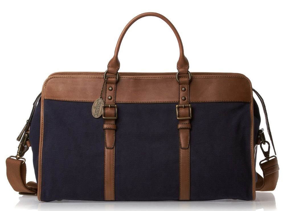 The quintessential travel bag, this Fossil offering is perfect for ...