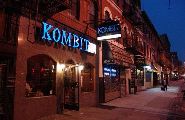 Kombit Bar Restaurant In Prospect Heights 279 Flatbush Ave