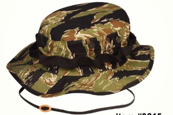 fb558a930ce Vietnam Tiger Stripe boonie hat.