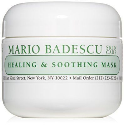 Biweekly Mask Mario Badescu Healing Soothing Mask 2 Oz Hydrating Face Mask Mask For Dry Skin Collagen Mask