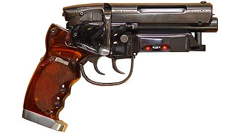 Blade Runner blaster, replica made by gunsmith Nobutaka Toku