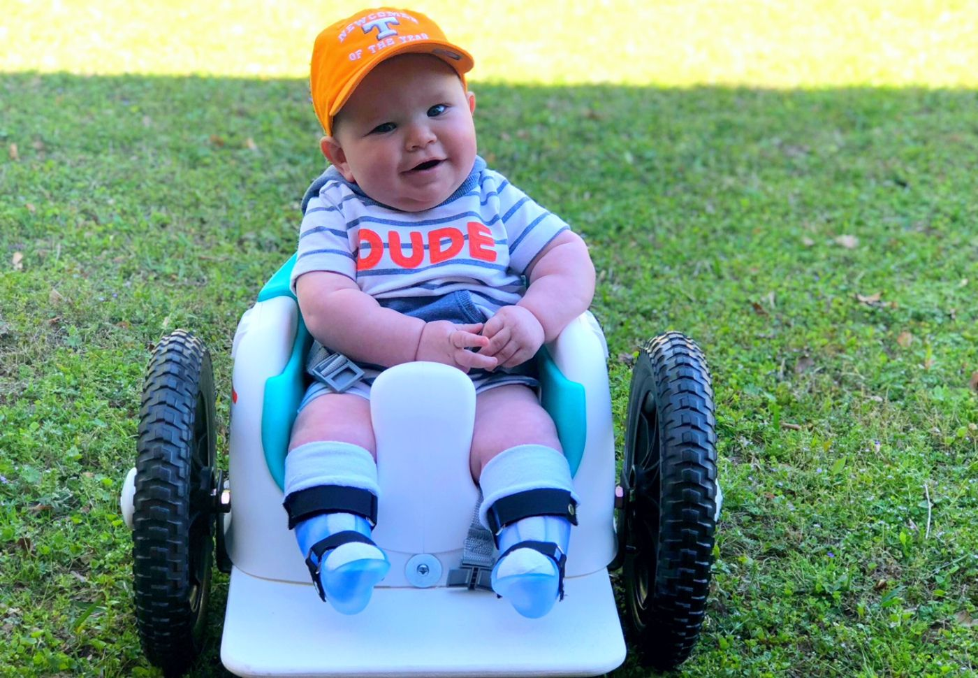 How this child with Spina Bifida is proving all his doctors