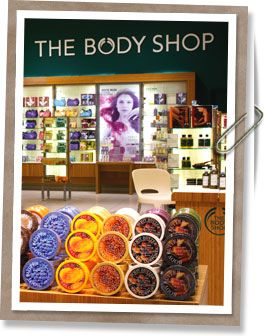 The Body Shop--anything from this store