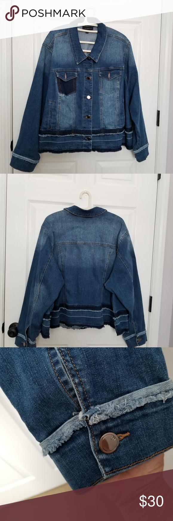 Lane Bryant Blue Denim Jacket Sz 28 Like New Denim Jacket Blue Denim Jacket Blue Denim [ 1740 x 580 Pixel ]