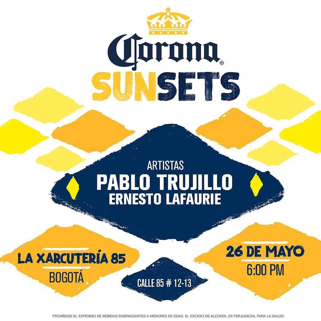 Celebra con nosotros y @cervezacorona un nuevo atardecer.  Comida #deliciosa #cerveza helada y el mejor #parche de todos.  Quien dijo yo? #GastroPub #Beer #Corona #Bogotá by laxarcuteria