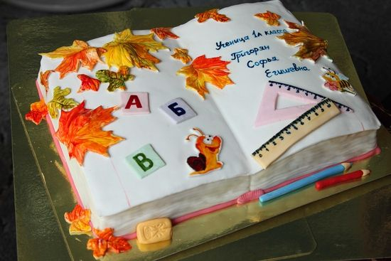 торт 1 сентября фото