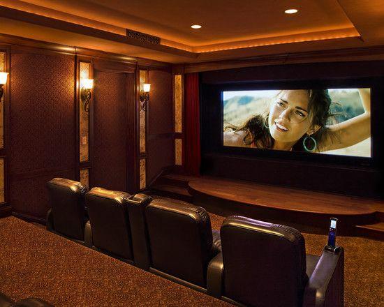 Media Room Theater Rooms Design