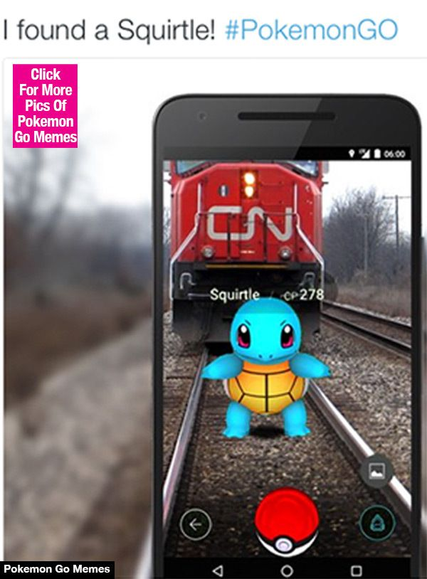Pokemon Go Funny Memes And it has to happen in Canada. I mean I know out of experience European cargo trains are way way shorter than in Canada.