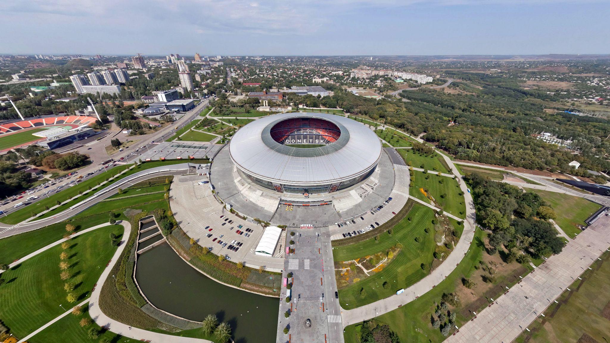 Donbass arena sports stadium football