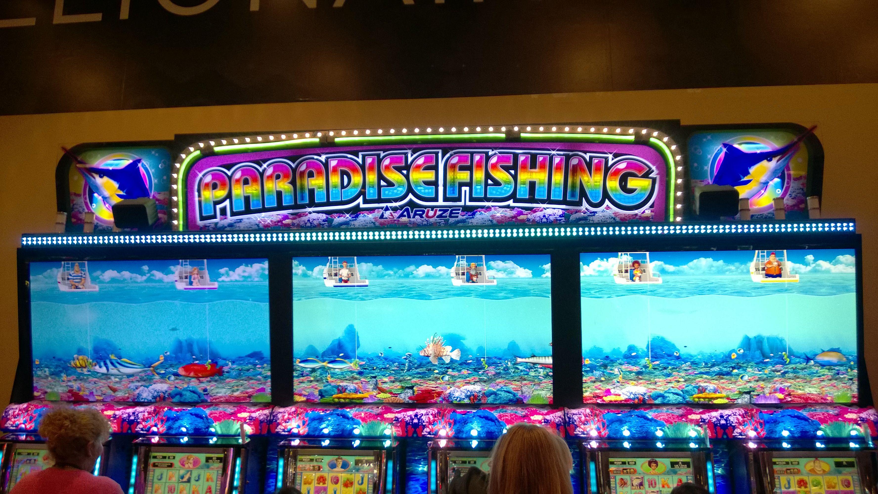 Paradise Fishing Slot Machine