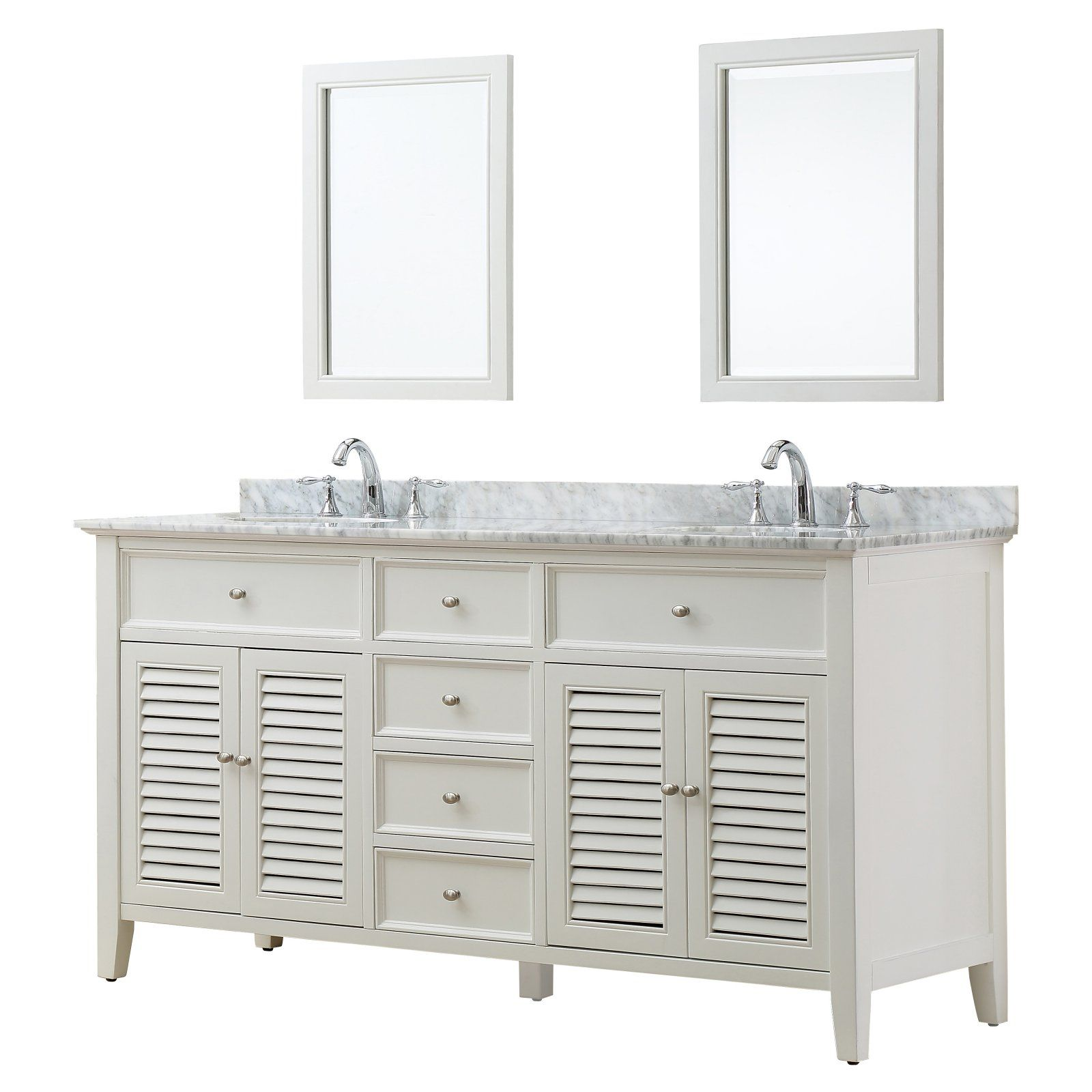 Direct Vanity Sink Shutter 6070d12 70 In Double Bathroom Vanity