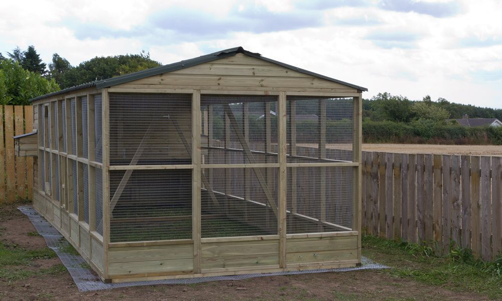 Large Chicken House And Run For Up To 24 Chickens Diy Chicken