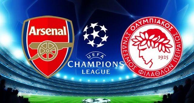 Uefa Champions League Live Watch Online Olympiacos Vs Arsenal Streaming Champions League Live Arsenal Uefa Champions League