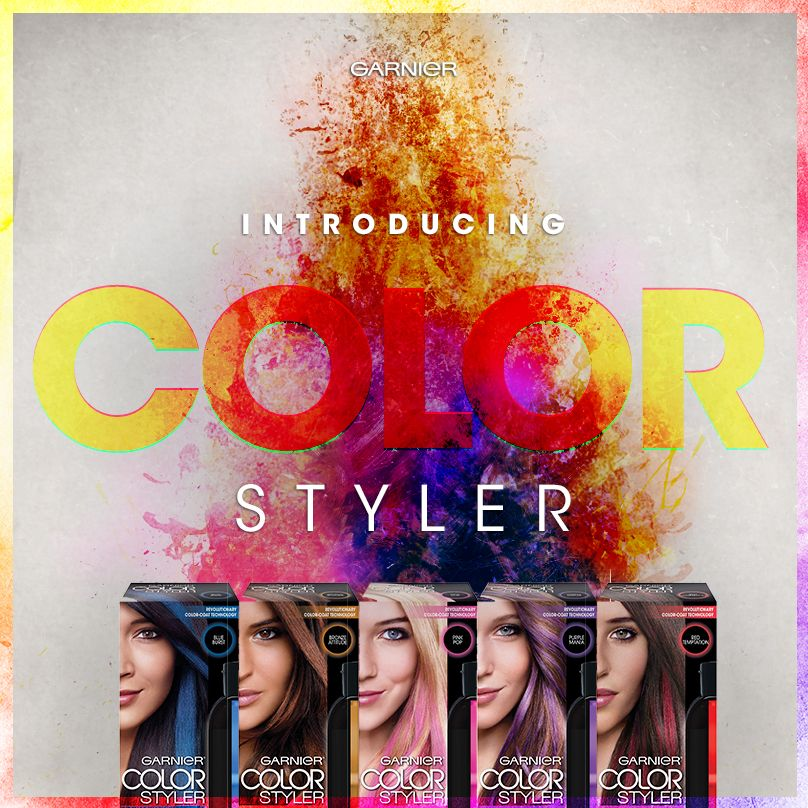 Be Bold Try All The Colors Of The Rainbow With Garnier Color