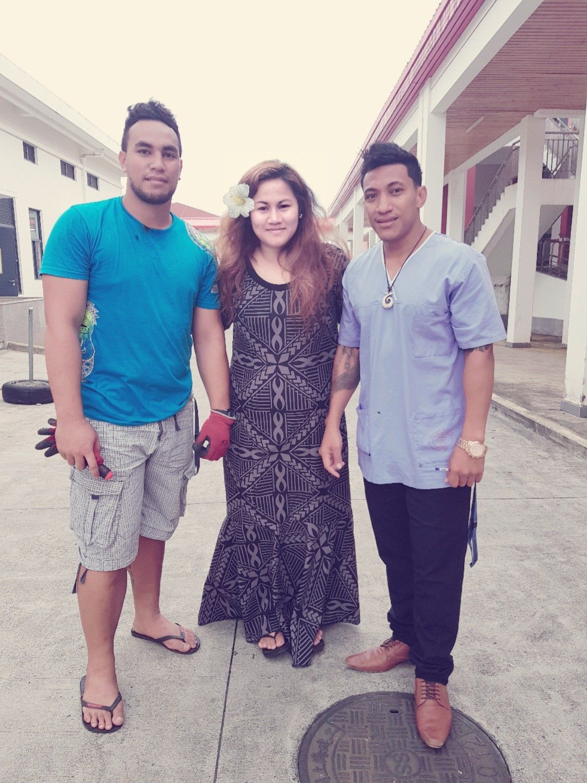 Visiting Samoa wearing a tailored-made dress ❤🌴   IslandSwag ...