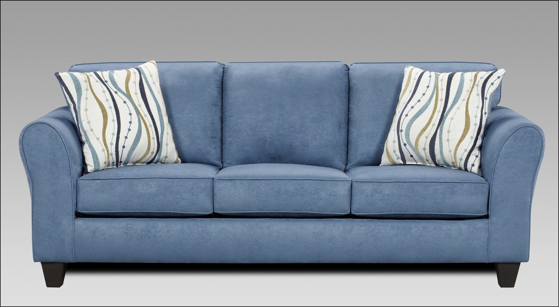 Etonnant Ivory Microfiber Sofa