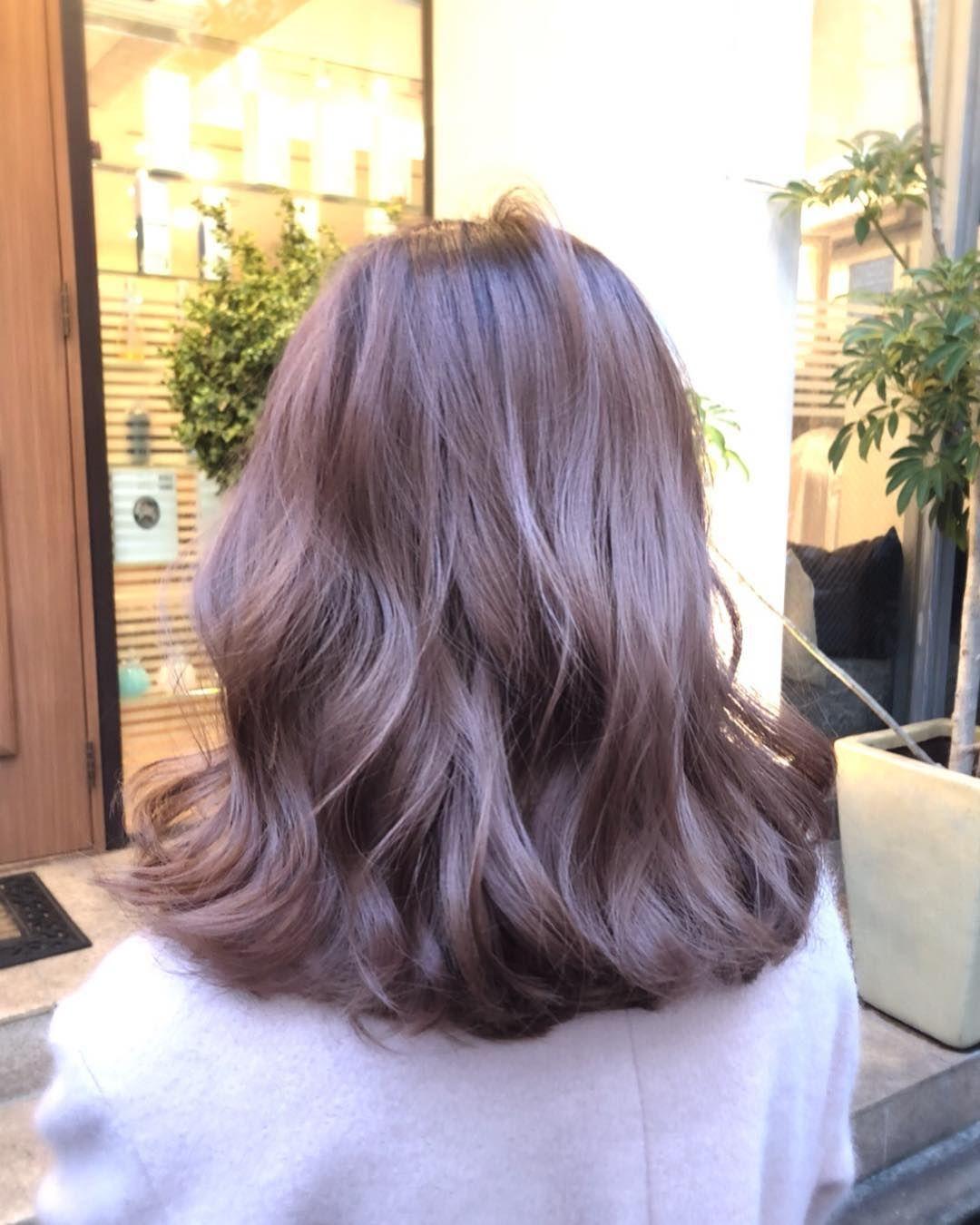 ローズブラウンのヘアカラー10選 ピンク系の髪色とローズティブラウン