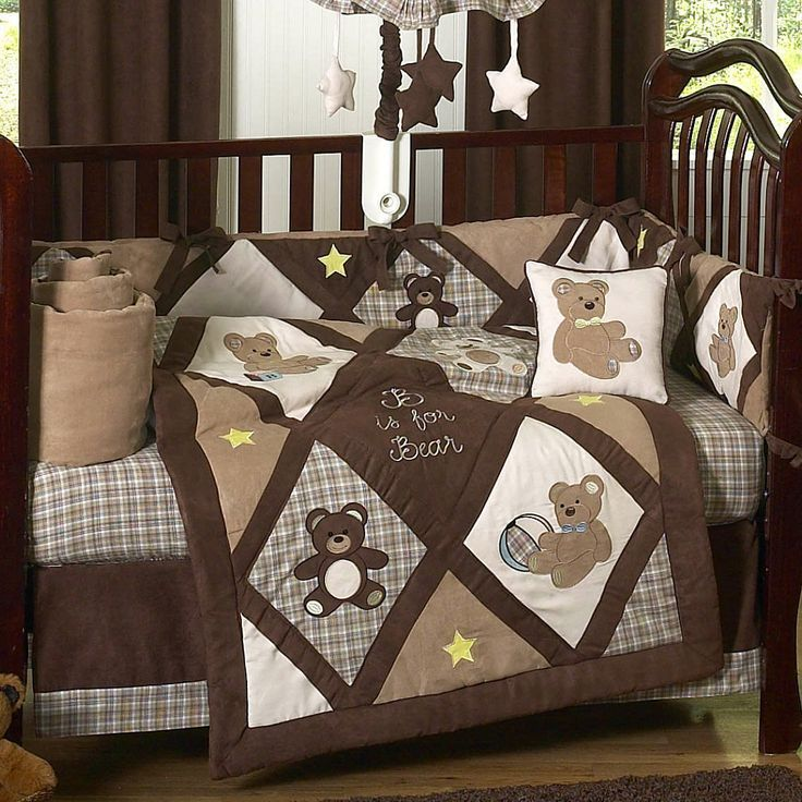 Teddy Bear Chocolate And Cream Quilt Idea Quilts Bebe