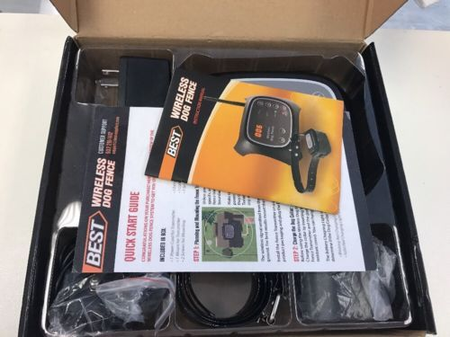 best electric fence for dogs