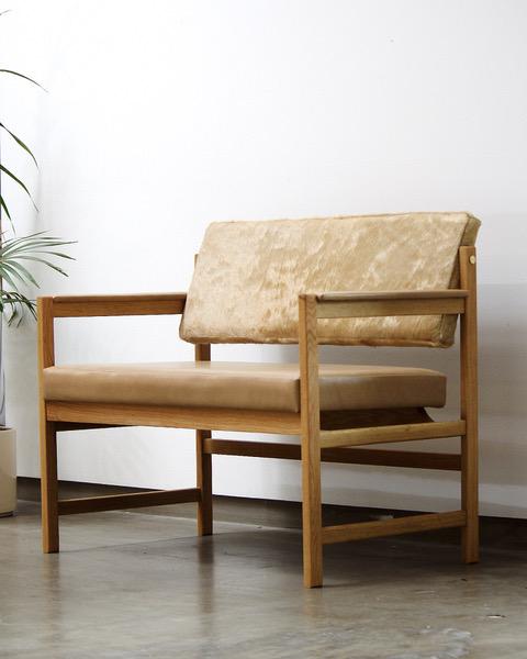 BASIC SETTEE — THOMAS HAYES STUDIO Living room chairs