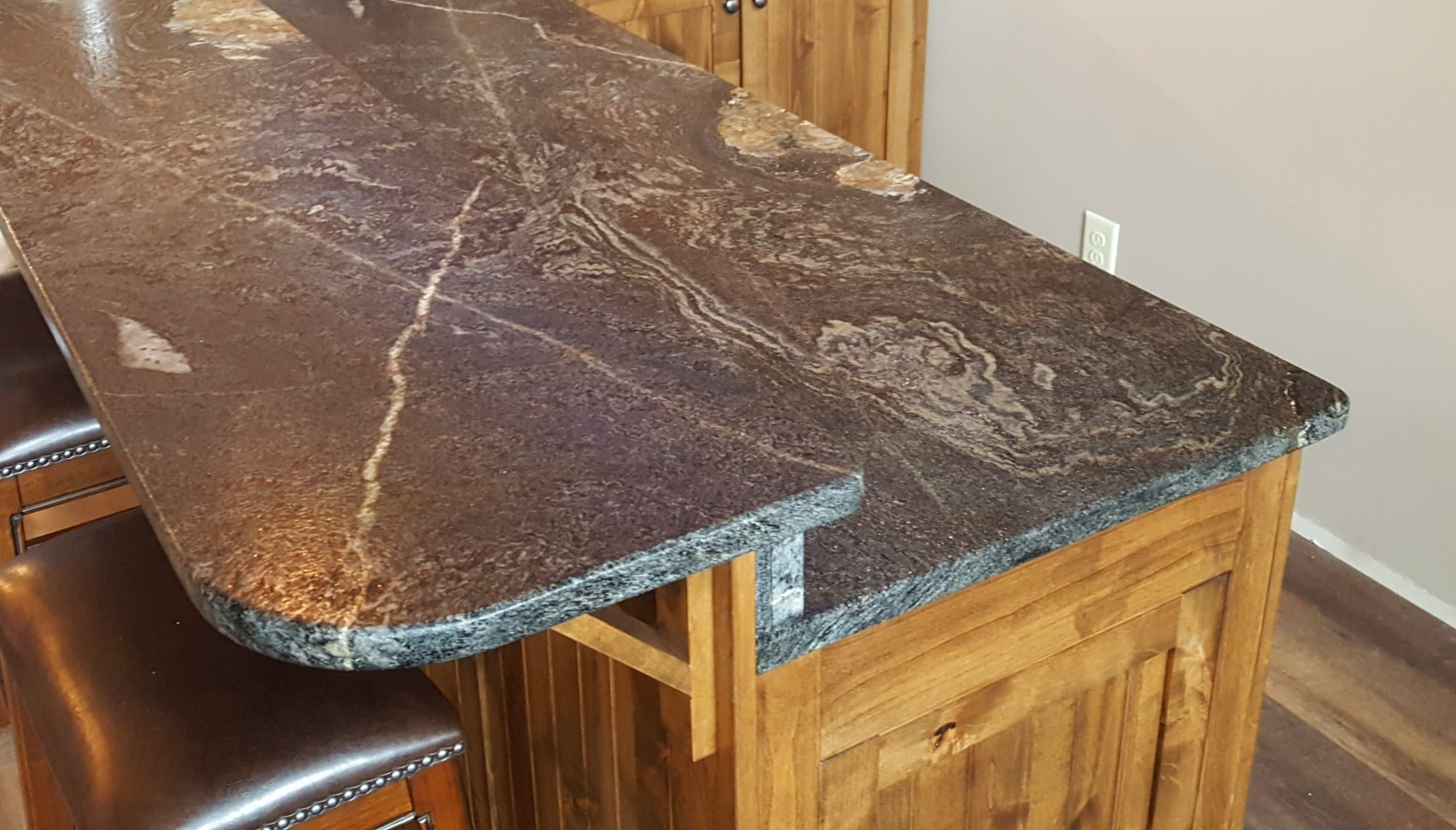 Type Of Job Kitchen Countertops Material Granite Color Astrus Black Edge Demi Bullnose Sink Sb 708 Large Prep 18g Ss Um Designer Mayeli Medina