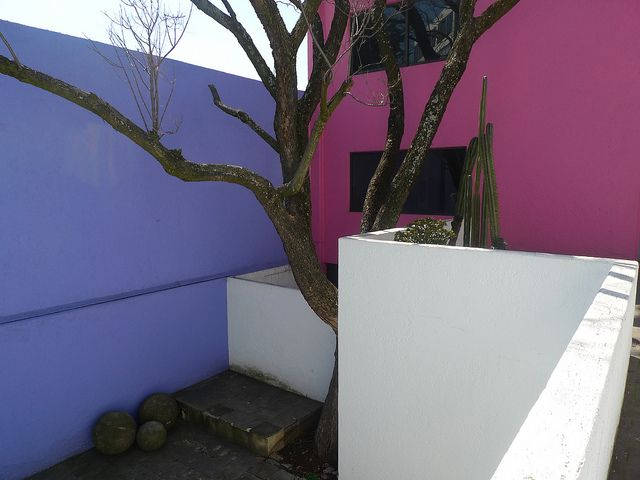 Luis Barragan S Casa Gilardi On The Roof Luis Barragan