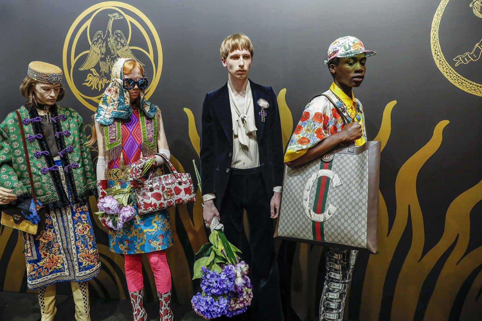 2bd2fade20 Rave in a Cemetery | - GUCCI - | Gucci fashion, Spring fashion ...