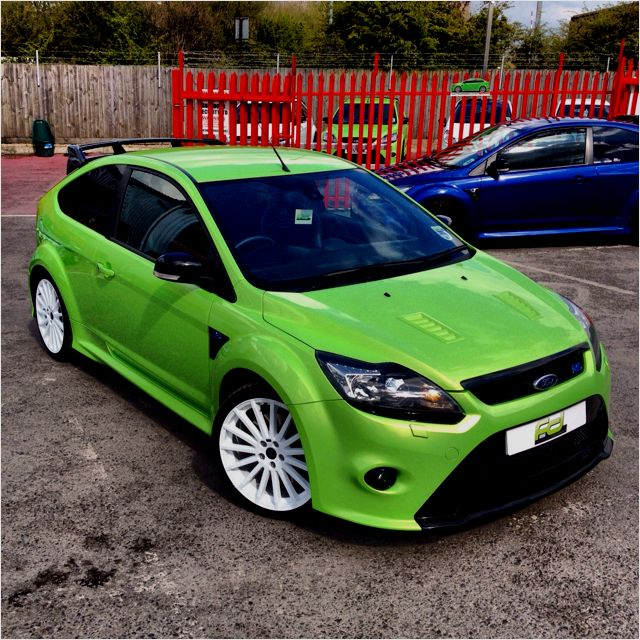 Ford Focus Rs Ultimate Green Frozen White Wheels Coches