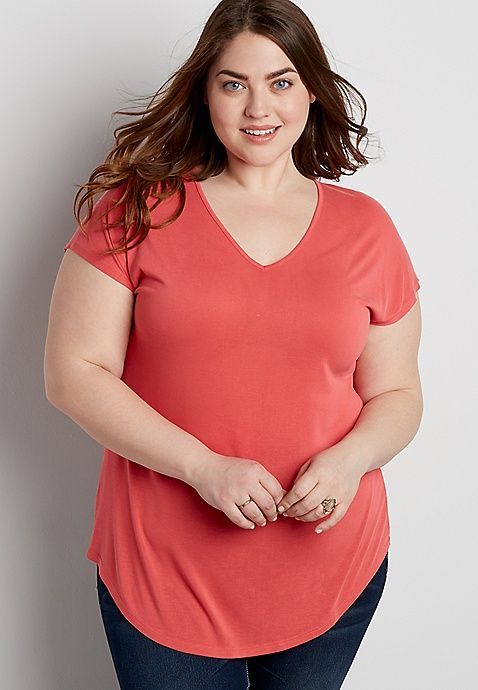 489434fd201 The 24 7 plus size sandwashed dolman tee