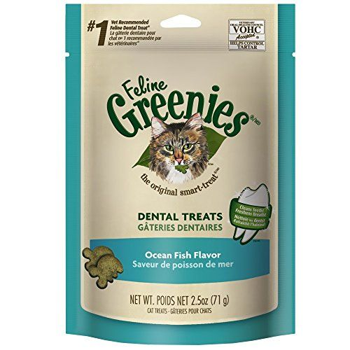 Feline Greenies 3oz Bag Ocean Fish Check This Awesome Product By Going To The Link At The Image Roast Chicken Flavours Dental Treats Salmon Treats
