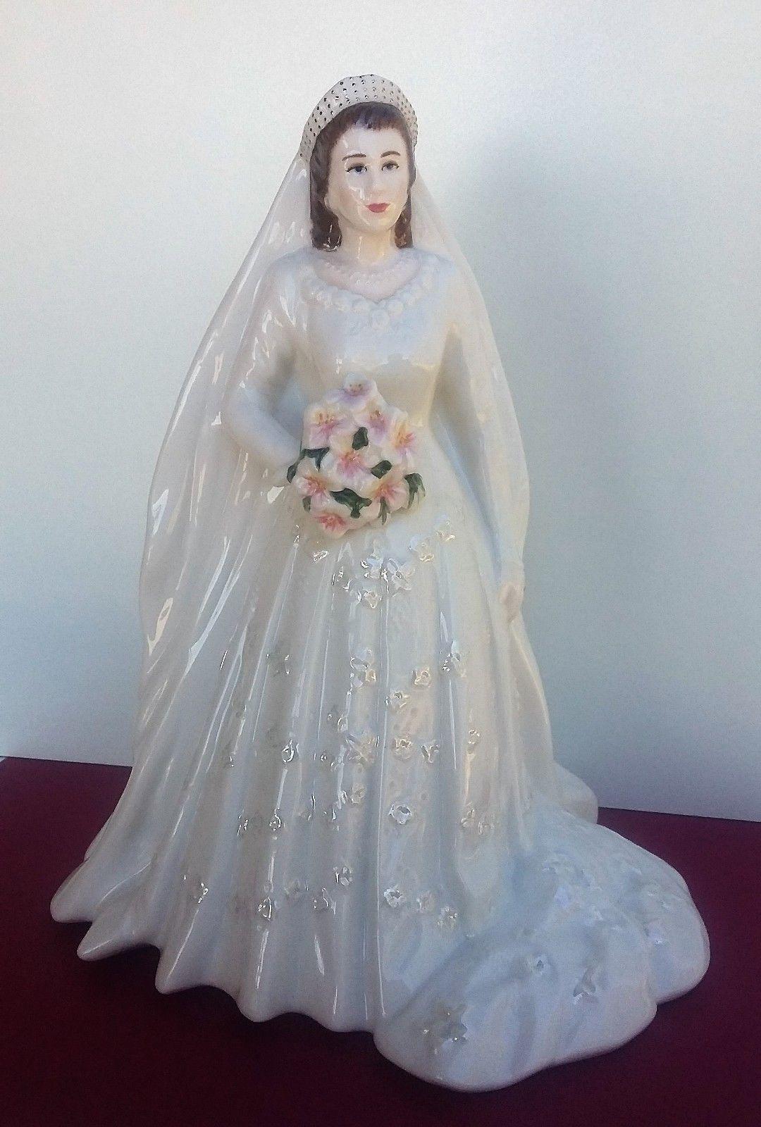 Royal Worcester figurine 'Queen Elizabeth II' Diamond