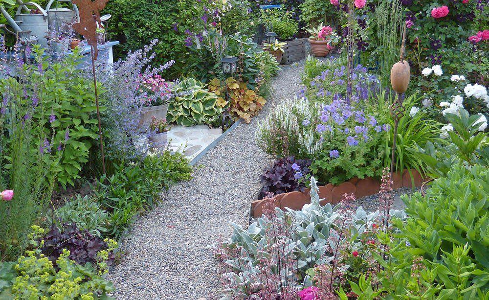kleinegarten 11 der Gartengestaltung in 2020   Kleiner ...