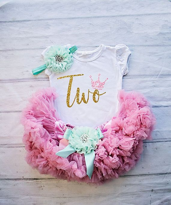 Zweiter Geburtstag Outfit 2 Outfit Geburtstagskind Madchen 2