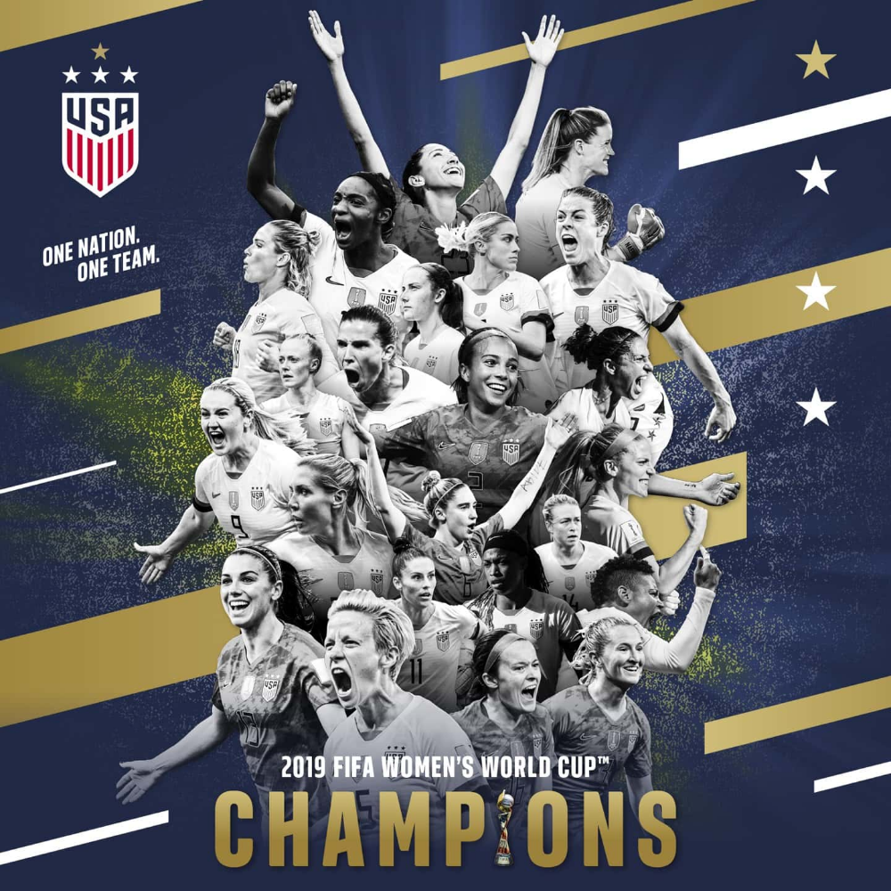 Usa Wins Back To Back Women S World Cup Titles With 2 0 Triumph Against The Netherlands World Cup Champions Fifa Women S World Cup World Cup