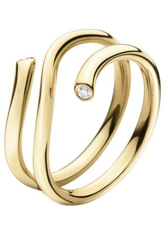 10 Stunning Engagement Rings For Any Bride (Or Bride Wannabe) #refinery29  http://www.refinery29.com/37557#slide-6  Georg Jensen Magic Ring, $1,200, available at Georg Jensen. ...